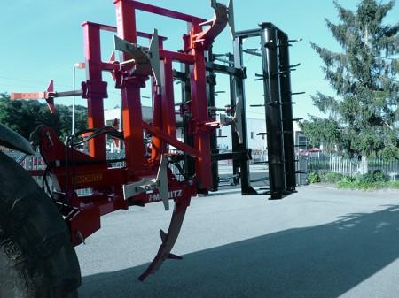 Ripuntatore pesante 4 metri pieghevole  (chiuso)